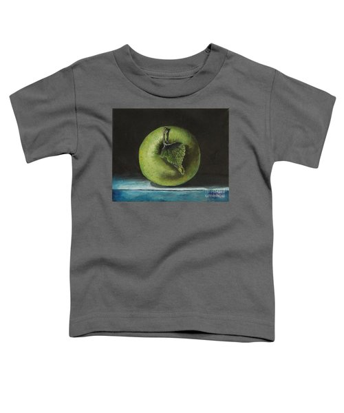 Green And Yellow Apple Toddler T-Shirt