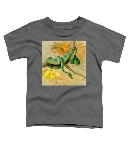 Green Boa Toddler T-Shirt