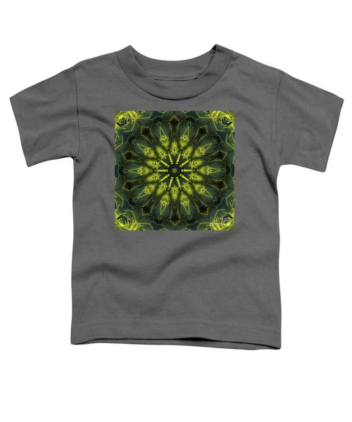 Succulent Mandala Toddler T-Shirt
