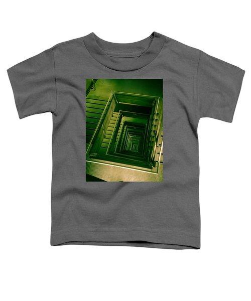 Green Infinity Toddler T-Shirt