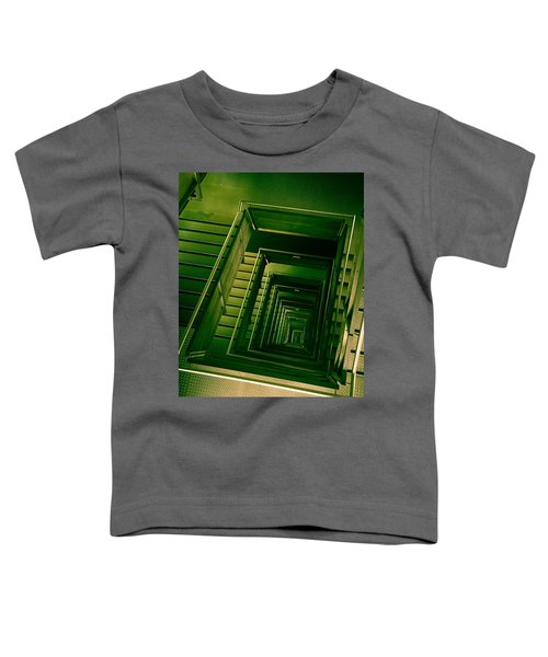 Green Infinity Toddler T-Shirt