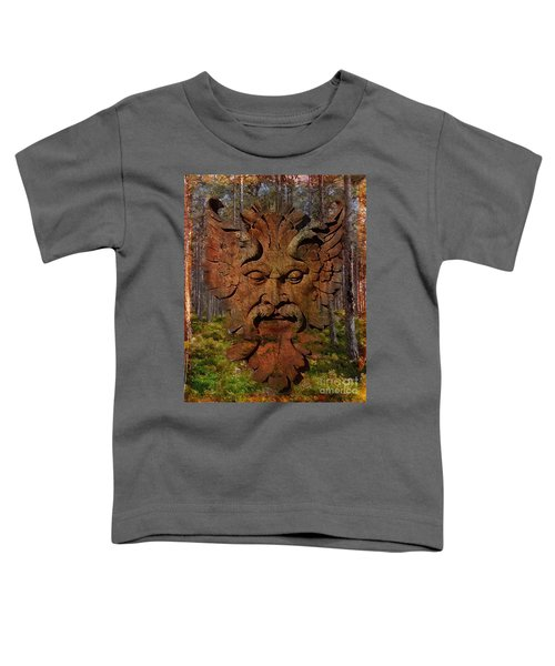 Green Man Of The Forest 2016 Toddler T-Shirt