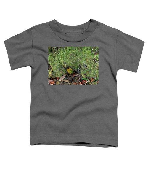 Green Man Spirit Photo Toddler T-Shirt