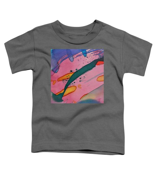 Green Stripe Toddler T-Shirt