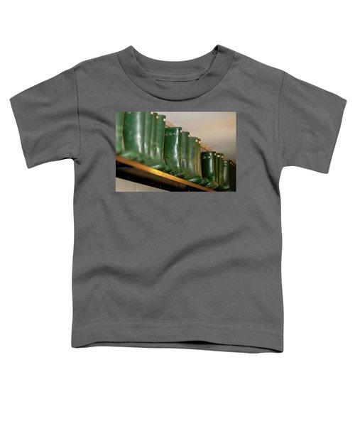 Green Wellies Toddler T-Shirt