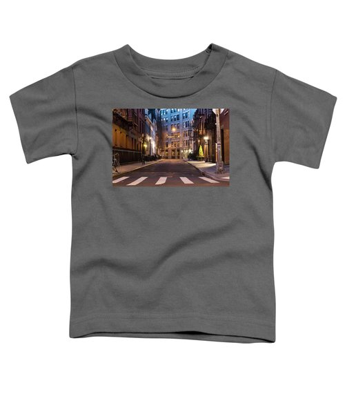 Toddler T-Shirt featuring the photograph Greenwich Village by Alison Frank