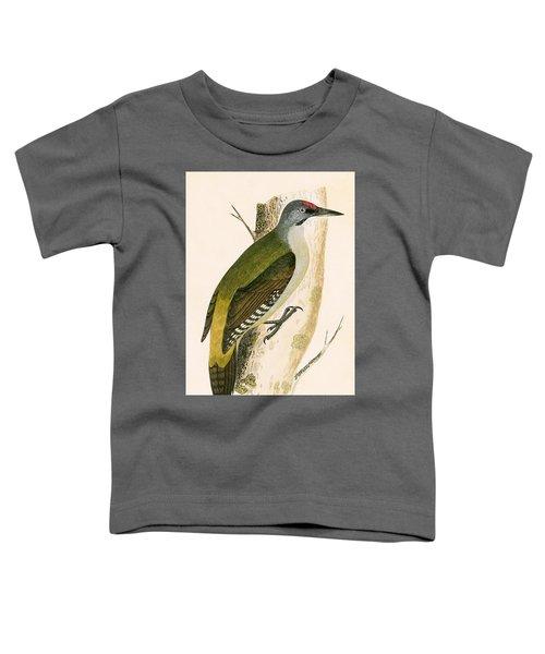Grey Woodpecker Toddler T-Shirt