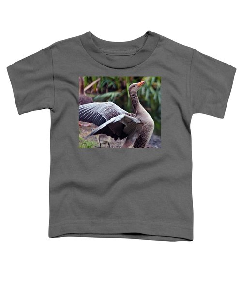 Greylag Goose Poetry Toddler T-Shirt