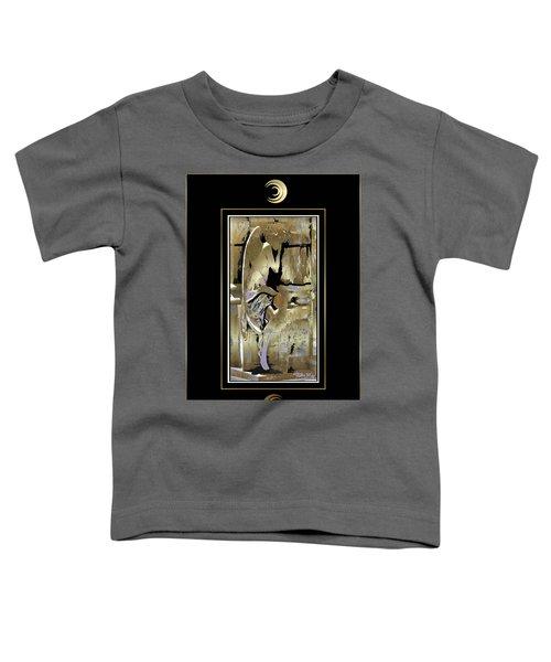 Grief Angel - Black Border Toddler T-Shirt