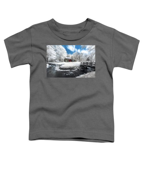 Grist Mill In Halespectrum Toddler T-Shirt