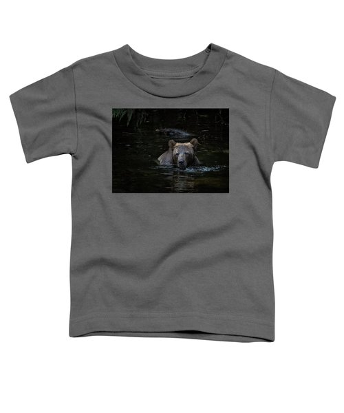Grizzly Swimmer Toddler T-Shirt