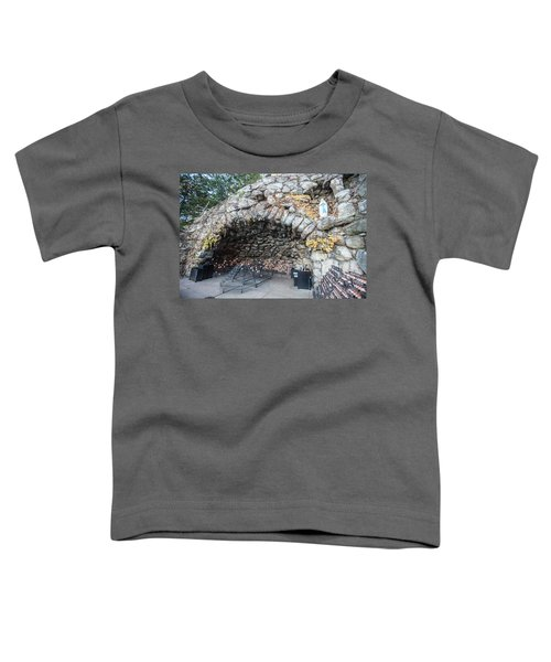 Grotto Of Our Lady Of Lourdes 2 Toddler T-Shirt
