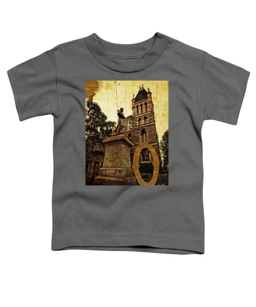 Grungy Melbourne Australia Alphabet Series Letter O Francis Ormo Toddler T-Shirt
