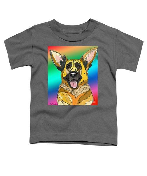 Gsd In Digi Yellow Toddler T-Shirt