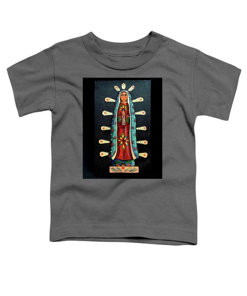 Guadalupe Wood Carving Toddler T-Shirt