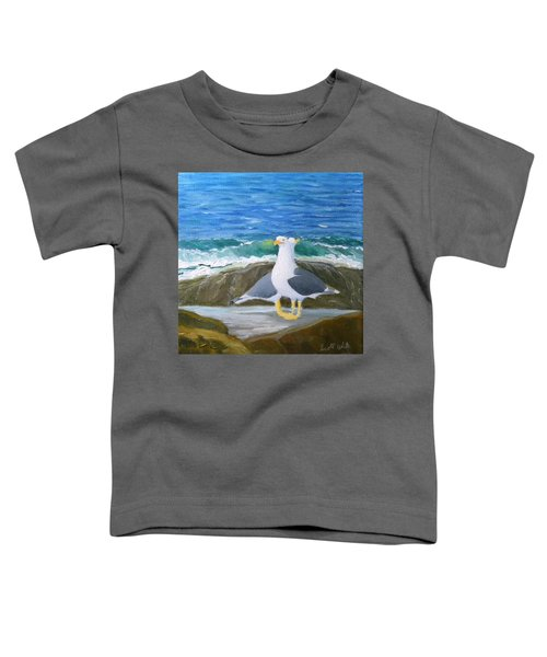 Guarding The Land And Sea Toddler T-Shirt