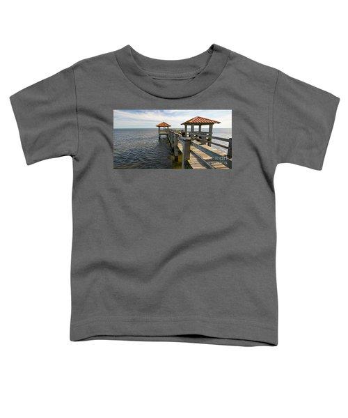 Gulf Coast Pier Toddler T-Shirt