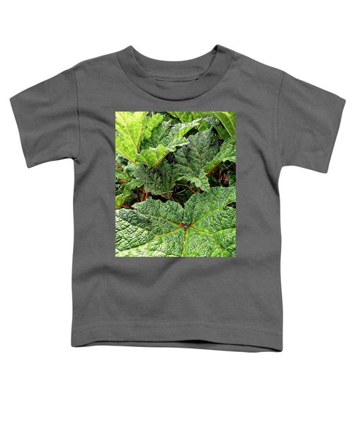 Gunnera Manicata Toddler T-Shirt