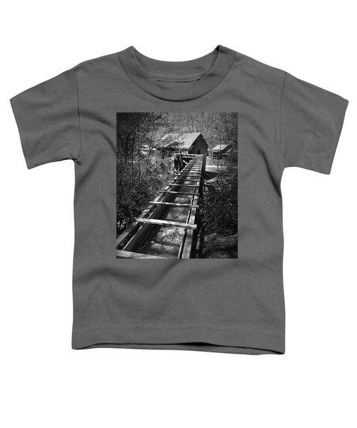 Hagood Gristmill Waterwheel At Hagood Mill Toddler T-Shirt