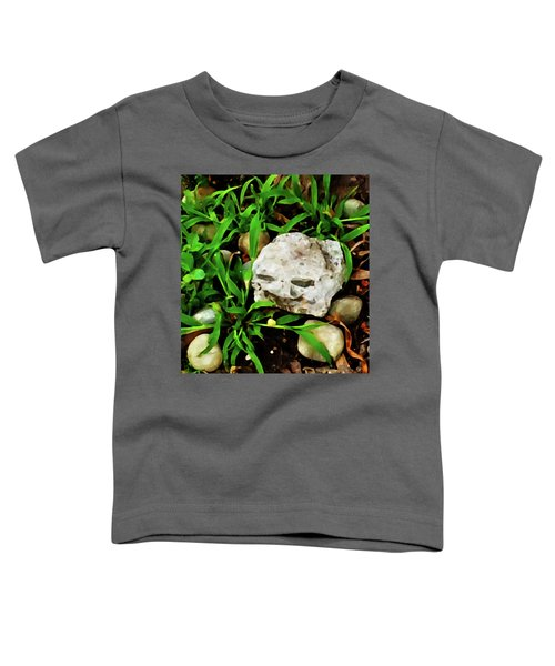 Haight Ashbury Smiling Rock Toddler T-Shirt