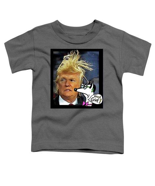Hail  Emperor Trump...   Toddler T-Shirt