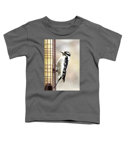 Hairy Woodpecker Toddler T-Shirt
