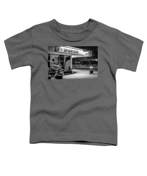 Hale Barns Co-op In The Snow Toddler T-Shirt