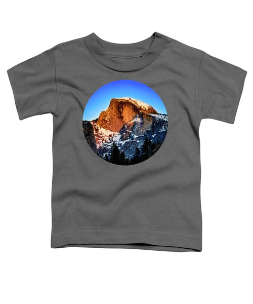 Half Dome Aglow Toddler T-Shirt