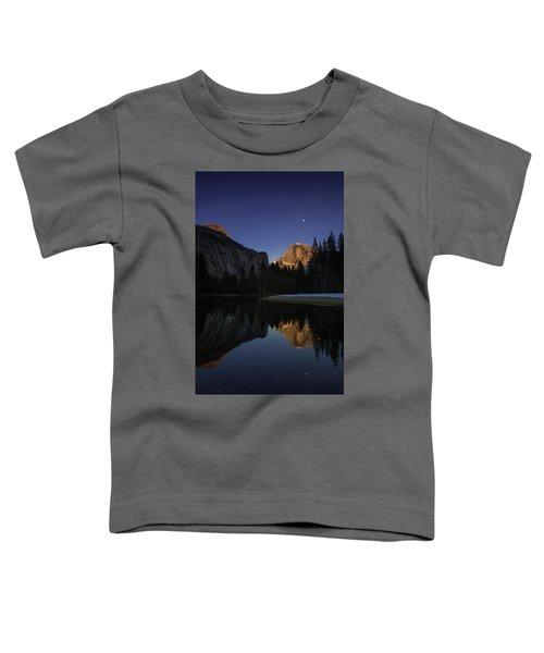 Half Dome, Twilight Toddler T-Shirt