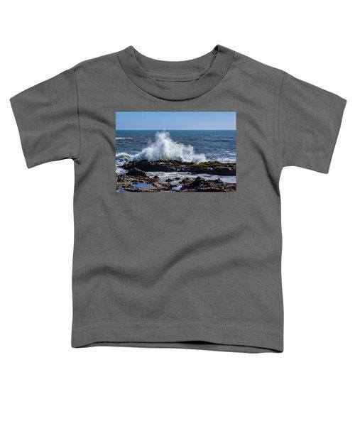 Wave Crashing On California Coast 1 Toddler T-Shirt