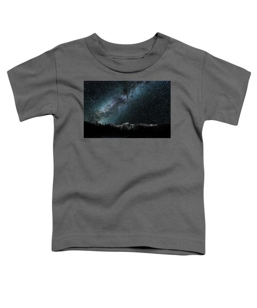 Hallet Peak - Milky Way Toddler T-Shirt