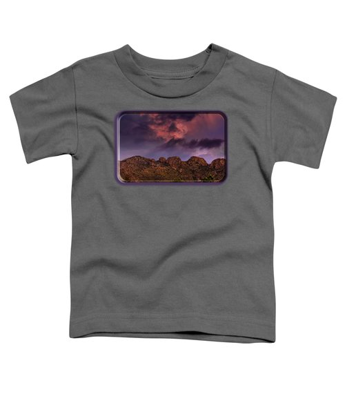 Hallow Moon Toddler T-Shirt by Mark Myhaver