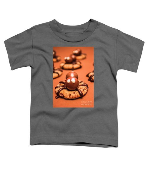 Halloween Homemade Cookie Spiders Toddler T-Shirt