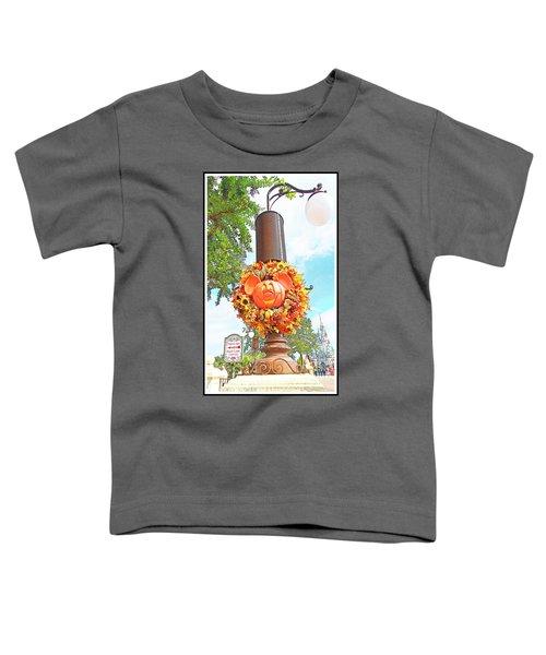 Halloween In Walt Disney World Toddler T-Shirt
