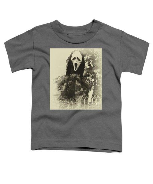 Halloween No 1 - The Scream  Toddler T-Shirt