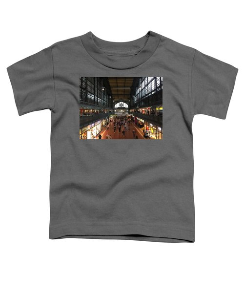 Hamburg Germany Trainstation Toddler T-Shirt