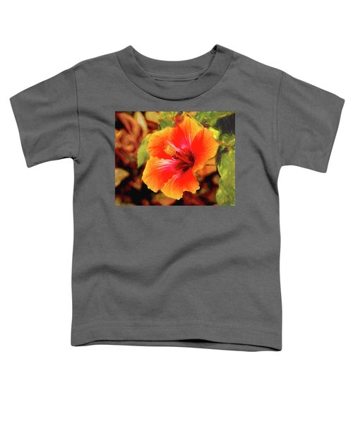 Happy Hibiscus Toddler T-Shirt