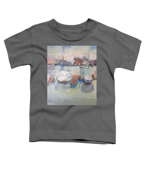 Harbor Sailboats Toddler T-Shirt