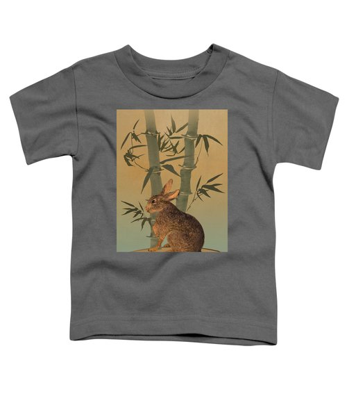 Hare Under Bamboo Tree Toddler T-Shirt