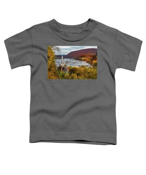 Harpers Ferry, West Virginia Toddler T-Shirt