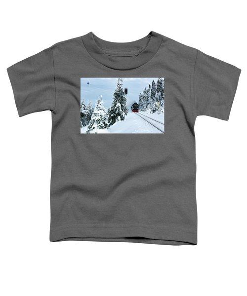 Harz Ballooning And Brocken Railway Toddler T-Shirt