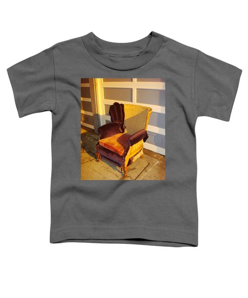 Toddler T-Shirt featuring the photograph Have A Seat In Dore Alley by Mr Photojimsf
