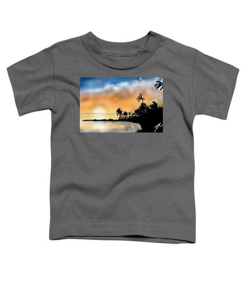 Hawaii Beach Toddler T-Shirt