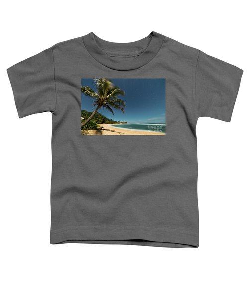 Hawaii Moonlit Beach Wainiha Kauai Hawaii Toddler T-Shirt