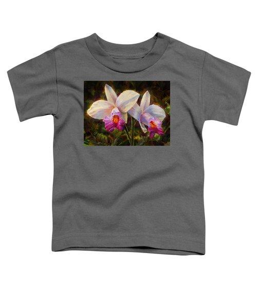 Hawaiian Bamboo Orchid Toddler T-Shirt