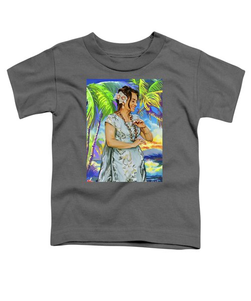 Hawaiian Dance Toddler T-Shirt