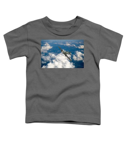 Toddler T-Shirt featuring the photograph Hawker Hurricane IIb Of 174 Squadron by Gary Eason