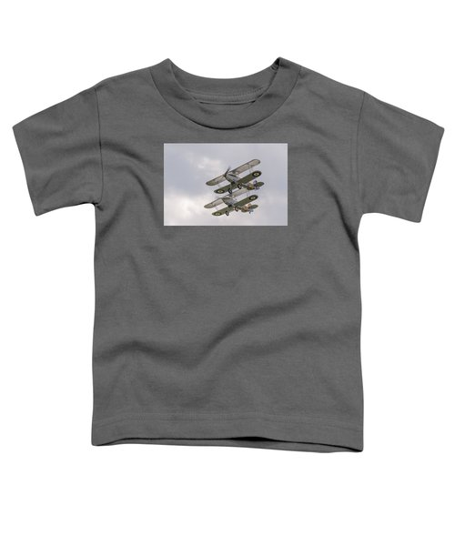 Hawker Nimrods Toddler T-Shirt by Gary Eason