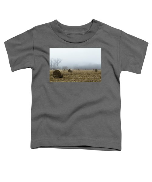 Hay Bales In A Field Toddler T-Shirt