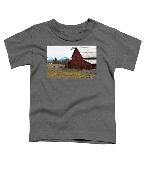 Hayfork Red Barn Toddler T-Shirt